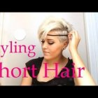 Ways to style really short hair