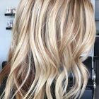 Blonde highlights on blonde hair