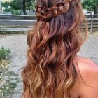 Braided down hairstyles