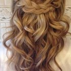 Bridesmaid hairstyles half up half down