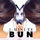 Cute buns for medium hair