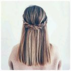 Cute half up half down hairstyles