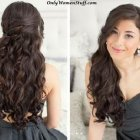 Easy and beautiful hairstyles