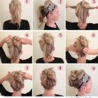 Easy and elegant hairstyles