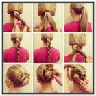 Easy up hairdos for long hair