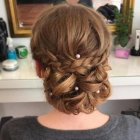 Formal hair updos for long hair