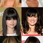 Fringe for round face