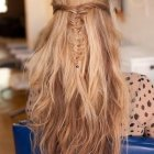 Half up half down braid hairstyles