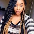 Long braids styles