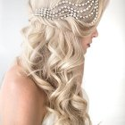 Long hair bridal styles
