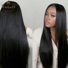 Long straight weave hairstyles