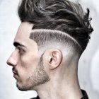 New trend hair style for men