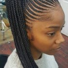 Plaits hairstyles for black hair