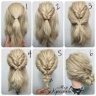 Simple elegant updos for medium hair