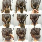 Very simple hairstyle