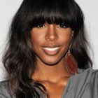 Weave hairstyles with bangs