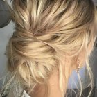 Wedding guest hair up