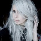 White blonde hair dye
