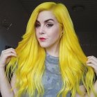 Yellow hair color