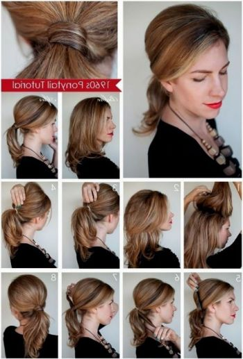 Beautiful and easy hairstyles for medium hair