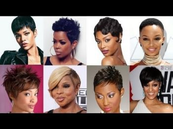 Black short hairstyles for 2019