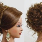 Cool updos for long hair