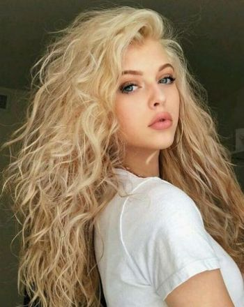 Curly hairstyles for long hair 2019