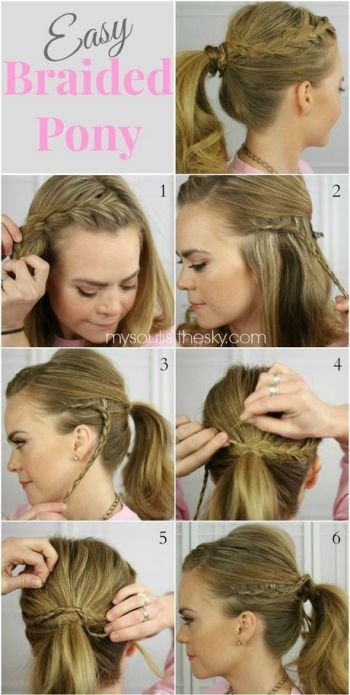 Cute hairstyles easy and quick