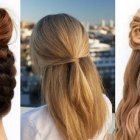 Easy hairdos for long hair to do at home