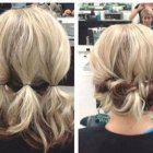 Easy updos for very short hair