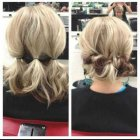 Fun easy hairstyles for short hair