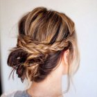 Hair do ups for medium length hair