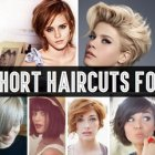 Hairstyles for short hair easy to do