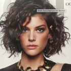 Latest short curly hairstyles 2019