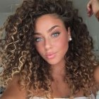 Natural curly hairstyles 2019