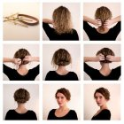 Pretty and easy hairstyles for short hair