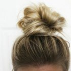 Pretty buns for short hair