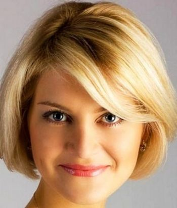 Recommended haircut for round face