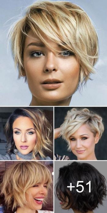 Short haircut style for womens 2019