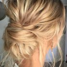Trendy updo hairstyles 2019