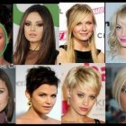 Whats the best hairstyle for a round face