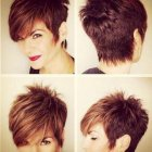 New short hairstyle 2016