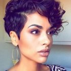 Short hairstyles for black hair 2016