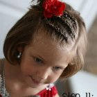 Cute little girl hairstyles for short hair