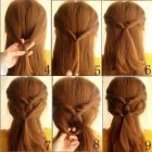 Easy and simple hairstyles