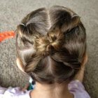 Girls easy hairstyles