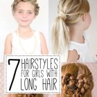 Girls hairdos for long hair