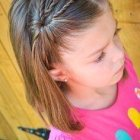 Hairstyle kid girl