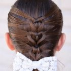 Hairstyle of girl