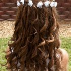 Hairstyles for little girls for weddings